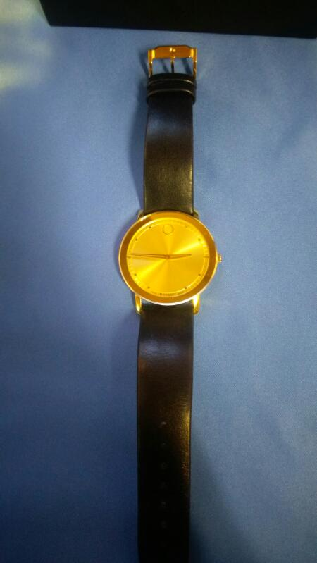 MOVADO GENT'S WRISTWATCH MODEL # 0606883