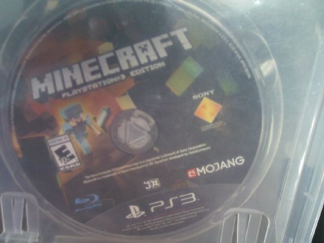 SONY PLAYSTATION 3 MINECRAFT