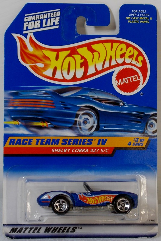 HOT WHEELS: RACE TEAM SERIES IV, COMPLETE SET