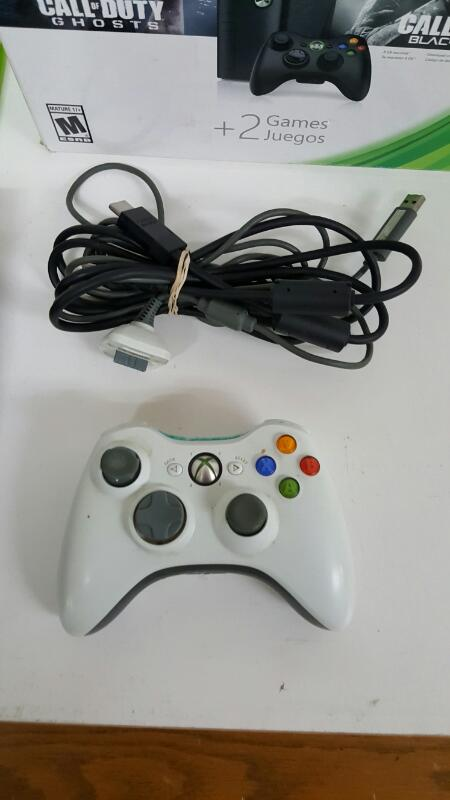 Microsoft Xbox 360 Black E Console 500gb (Model 1538, Gears of War)
