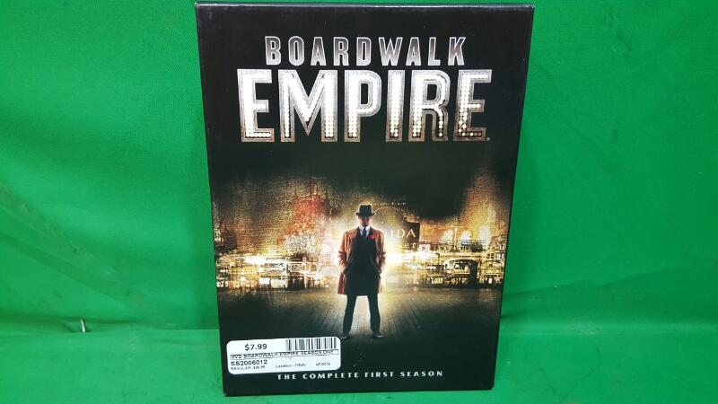 DVD BOX SET DVD BOARDWALK EMPIRE COMPLETE FIRST SEASON