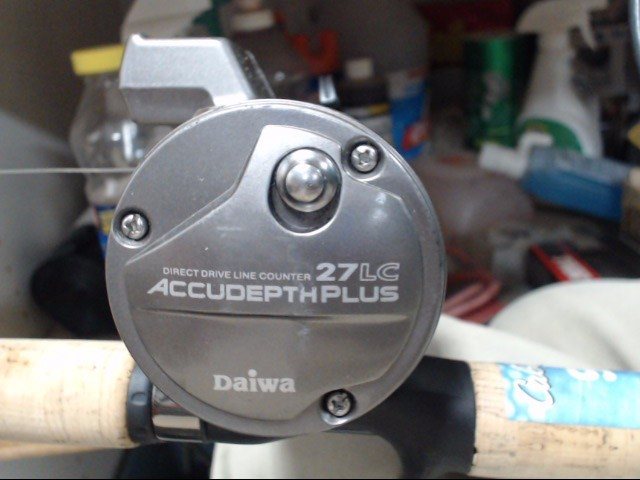 DAIWA Fishing Reel ACCUDEPTH 27LC