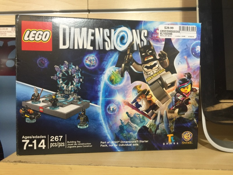 MICROSOFT Microsoft XBOX One Game LEGO DIMENSIONS - XBOX ONE