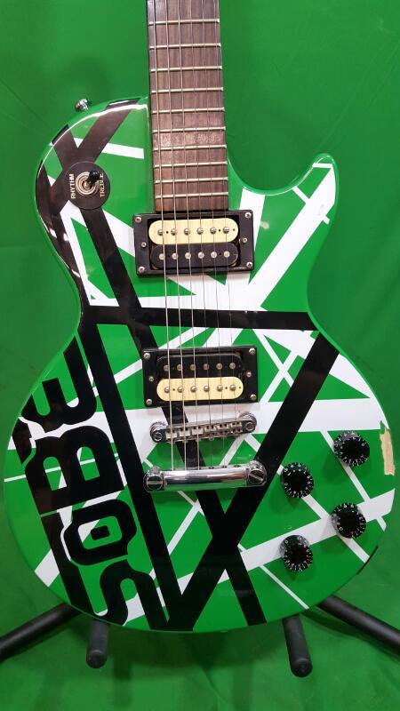 Epiphone LES PAUL SOBE Solid Body Electric Guitar VAN HALEN GREEN