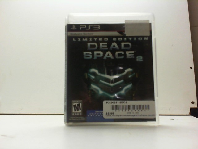 SONY Sony PlayStation 3 Game DEAD SPACE 2 LIMITED EDITION