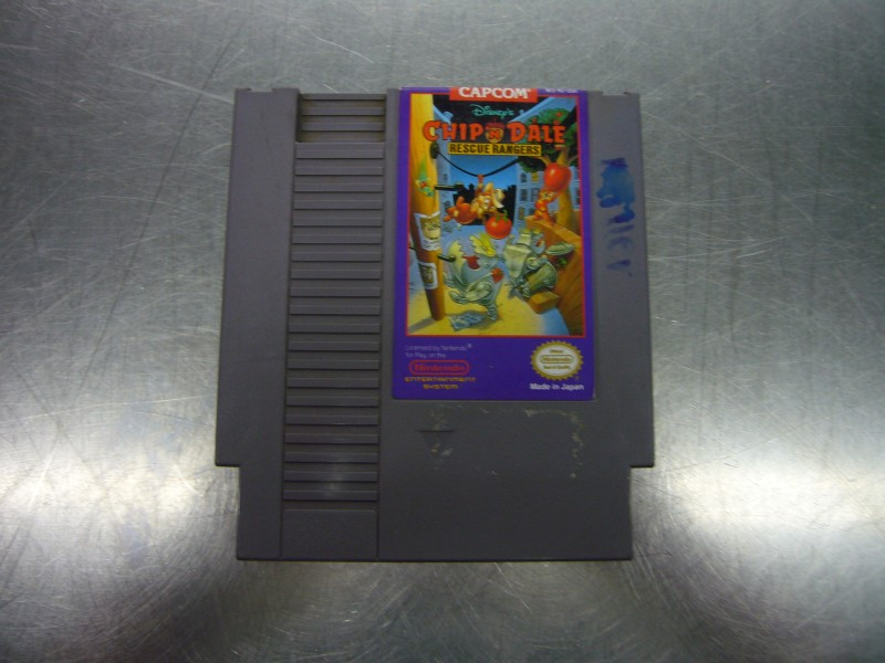 NINTENDO NES Game CHIP 'N DALE RESCUE RANGERS *CARTRIDGE ONLY*