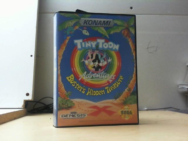 SEGA Sega Game TINY TOON BUSTER'S HIDDEN TREASURE