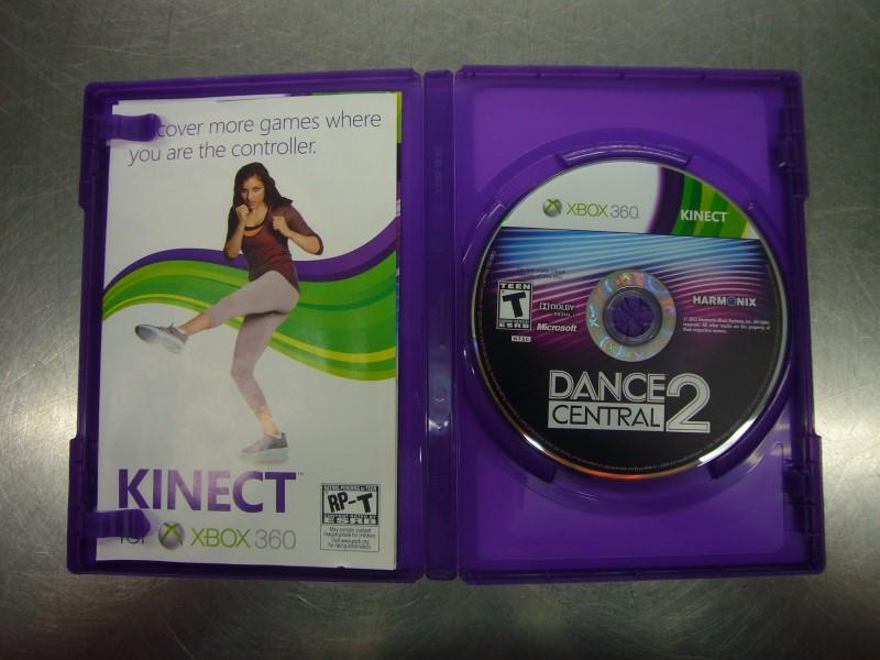 MICROSOFT XBOX 360 Game DANCE CENTRAL 2