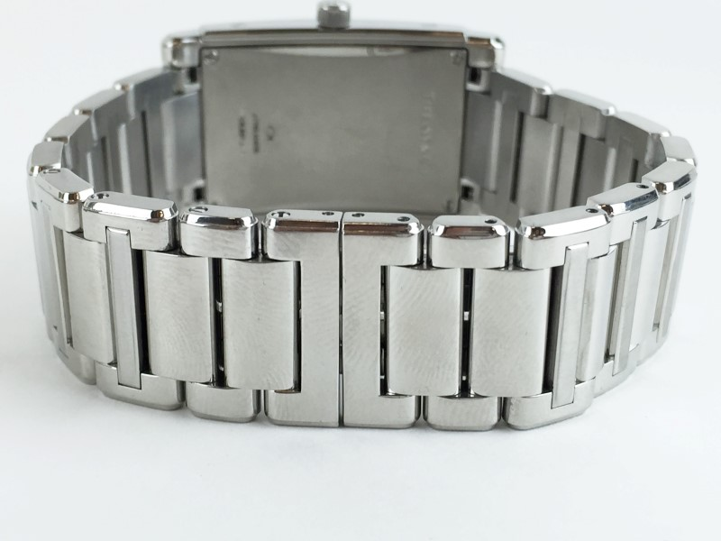 TIFFANY & CO GRAND QUARTZ RESONATOR STAINLESS QUARTZ WATCH