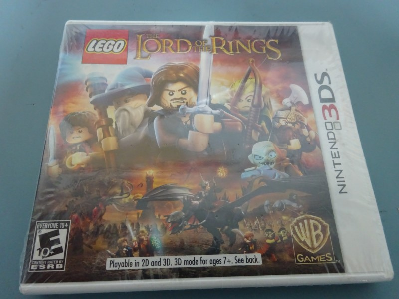 NINTENDO Nintendo 3DS Game THE LORD OF THE RINGS 3DS