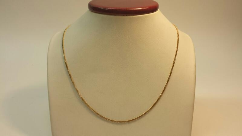 "10k Yellow Gold Chain 18"" 2.1dwt"