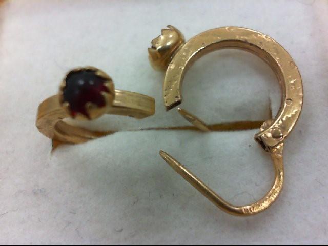Gold Earrings 18K Yellow Gold 1.6g