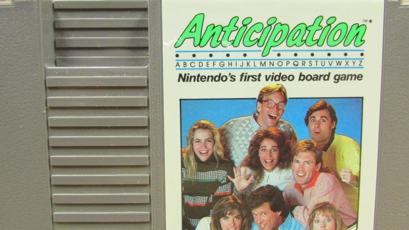 NINTENDO Nintendo NES Game ANTICIPATION