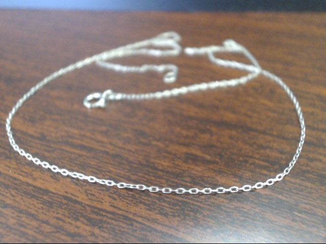 "18"" Silver Chain 925 Silver 0.8g"