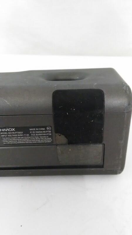 HMDX Jam Wireless Audio Portable Bluetooth Speaker HX-P730GY]