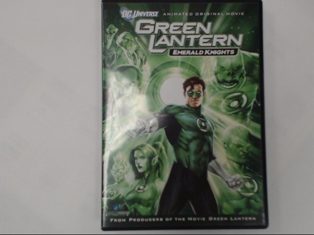 DVD GREEN LANTERN EMERALD KNIGHTS
