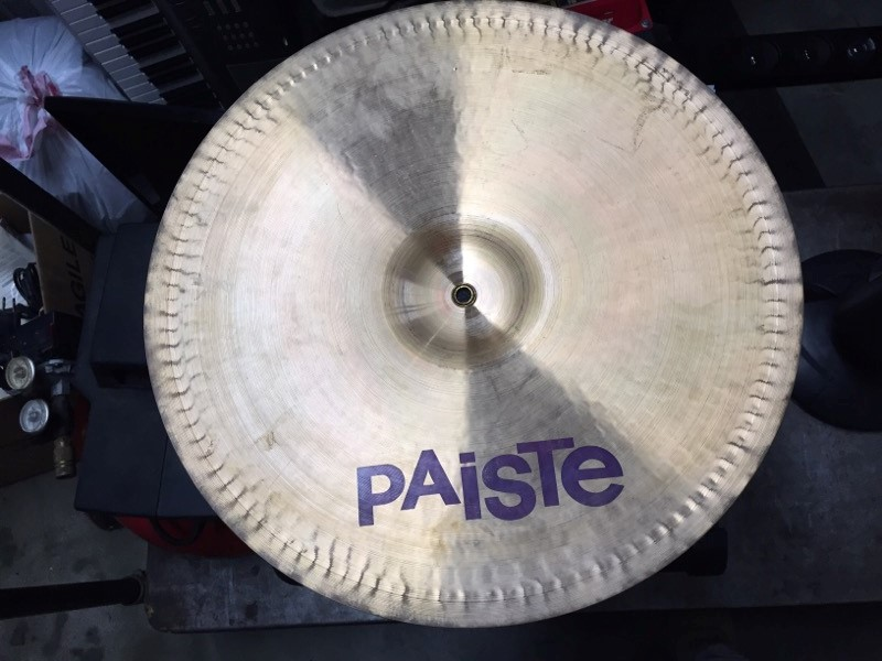 "PAISTE Cymbal 20"" DIMENSION POWER CRASH"