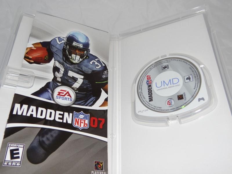 Madden NFL 07 (PSP), Very Good Sony PSP, Sony PSP Video Games