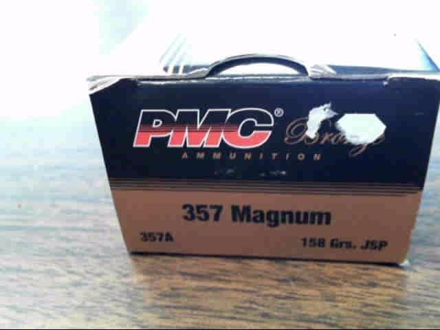 PMC AMMUNITION Ammunition .357 MAGNUM 158 GR JSP 50-rds