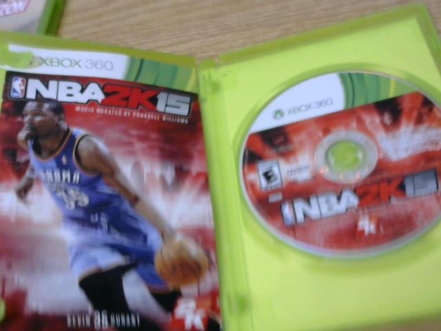 MICROSOFT Microsoft XBOX 360 Game NBA 2K15 - XBOX 360