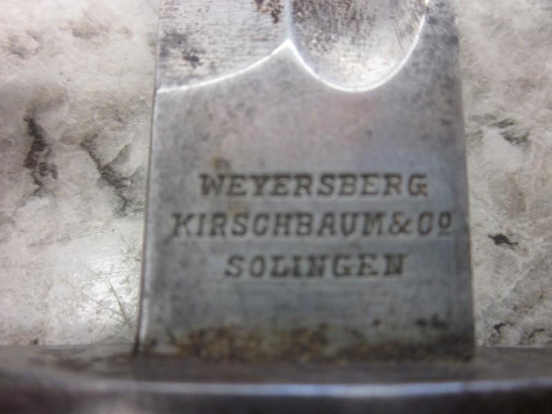 WEYERSBERG BAYONET