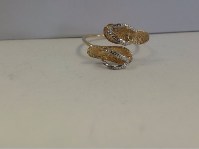 Lady's Gold Ring 10K Yellow Gold 1.23g Size:5