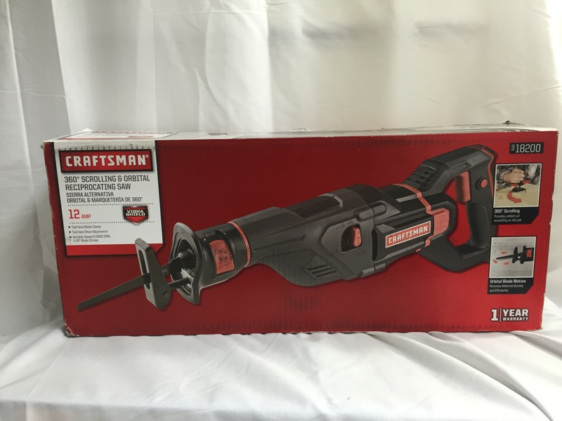 CRAFTSMAN Reciprocating Saw 320.18200