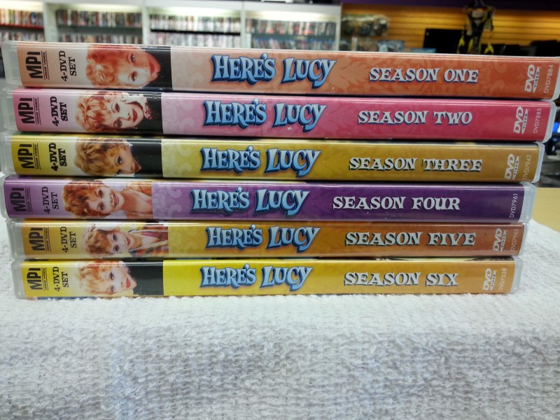 HERE'S LUCY COMPLETE SERIES
