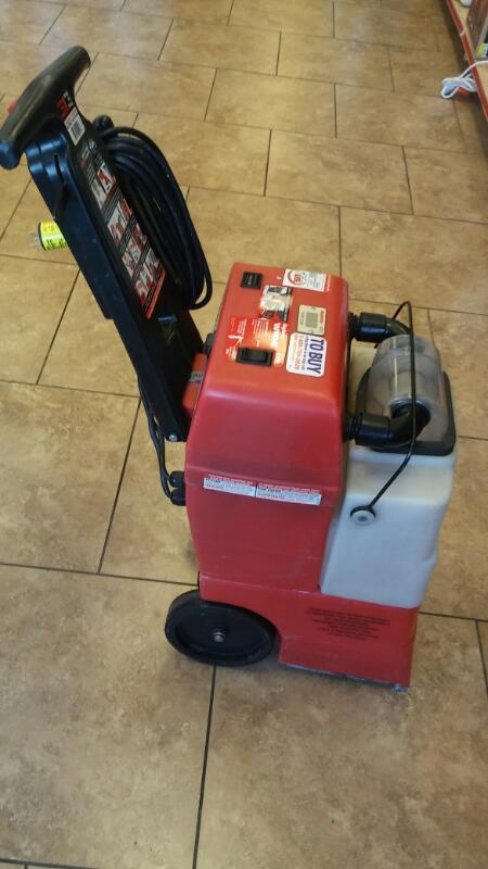 RUG DOCTOR Carpet Shampooer/Steamer WIDE TRACK