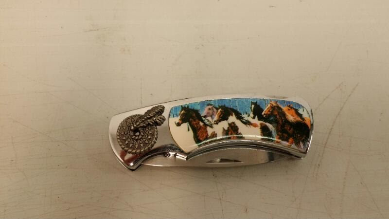 HORSE DESIGN DISPLAY KNIFE MADE IN CHINA]