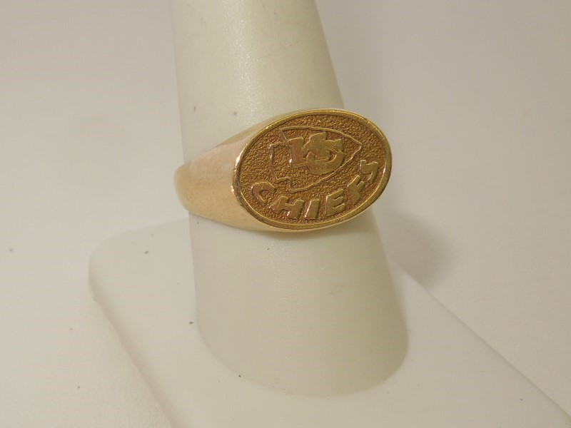 Gent's Gold Ring 10K Yellow Gold 3.3g Size:8