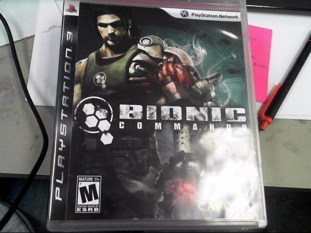 SONY Sony PlayStation 3 Game BIONIC COMMANDO