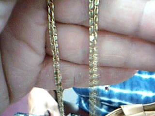 "20"" Gold Fashion Chain 14K Yellow Gold 4.6g"