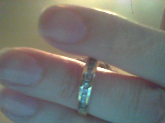 Lady's Diamond Wedding Band 13 Diamonds .26 Carat T.W. 14K Yellow Gold 2.7g