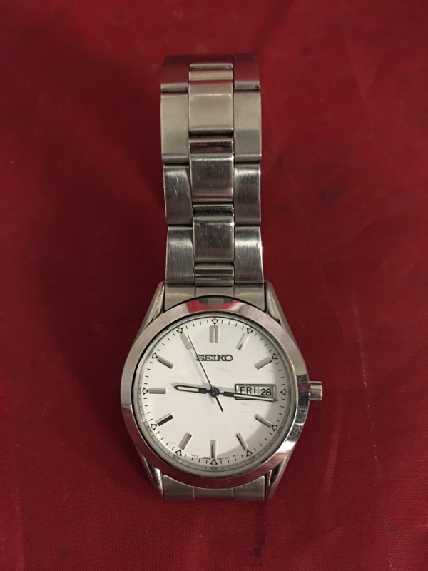 SEIKO Gent's Wristwatch 7N43-9251