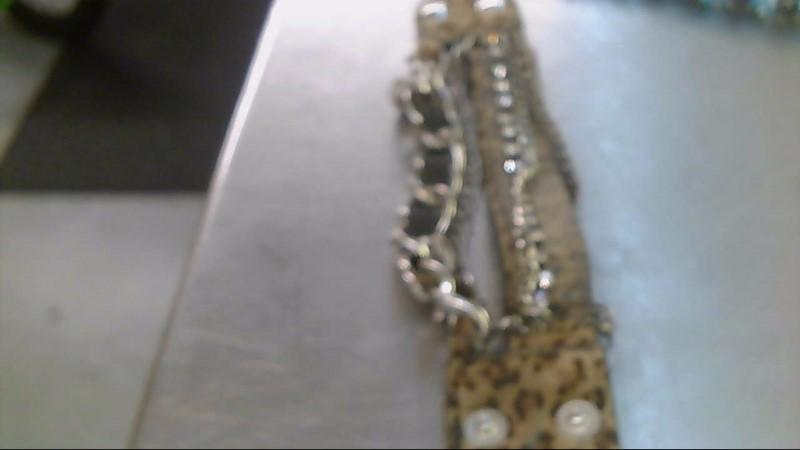 Bracelet Silver Stainless 1g