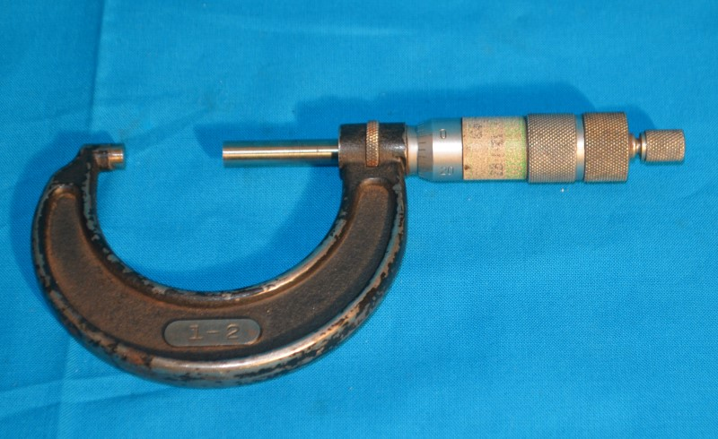 """Micrometer 1-2"""" .001 Tool"""