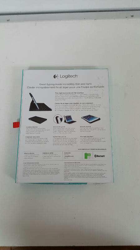 Logitech 920-005905 Ultrathin Keyboard Folio for iPad Air - Carbon Black