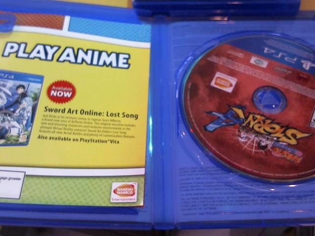 SONY Sony PlayStation 4 Game NARUTO SHIPPUDEN ULTIMATE NINJA 4 (PS4)