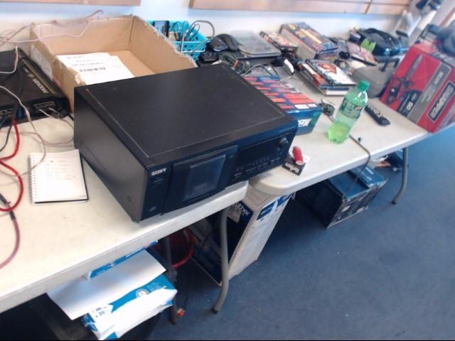 SONY CD Player & Recorder CDP-CX53 51 CD CHANGER