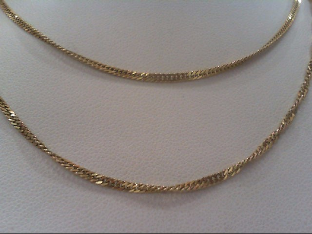 "24"" Gold Fashion Chain 14K Yellow Gold 4.2g"