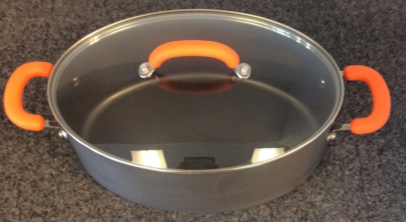 Rachael Ray Non-stick 8 Quart Anodized Cook Ware Pot 87393