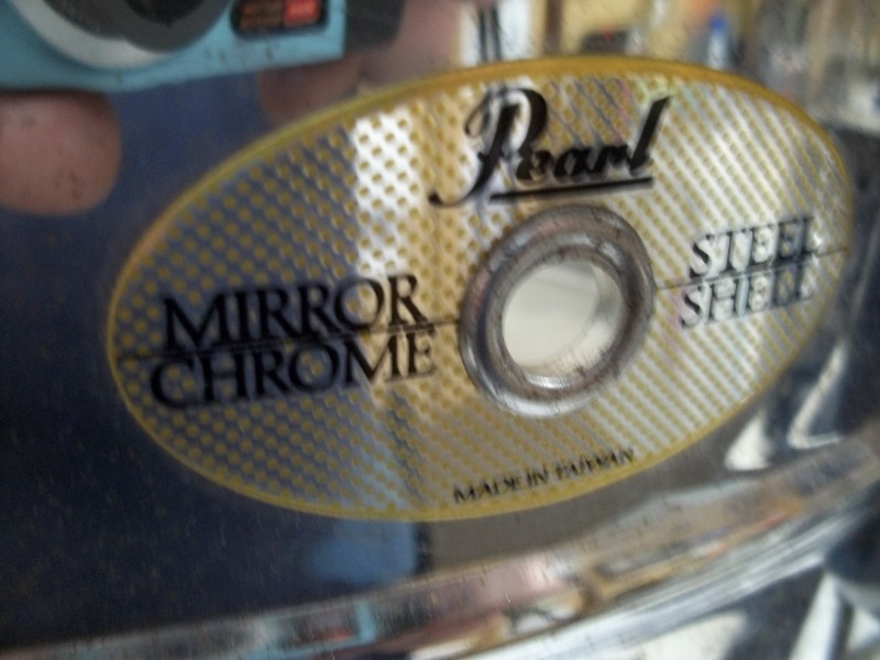 PEARL SNARE STEEL SHELL