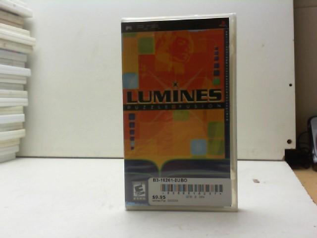 SONY Sony PSP Game LUMINES: PUZZLE FUSION PSP (2005)