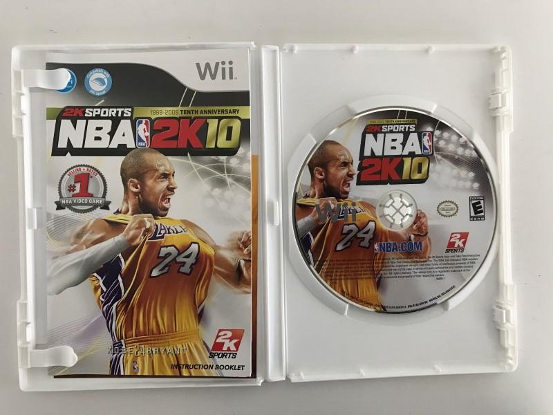 NINTENDO WII NBA 2K10