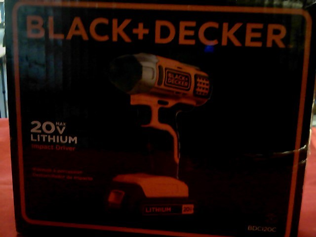BLACK&DECKER BDC120C Cordless Drill