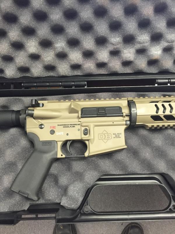 DIAMONDBACK FIREARMS Pistol DB-15