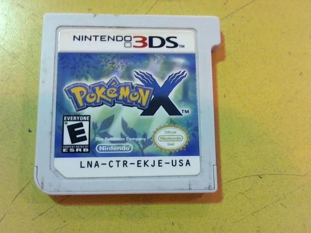 NINTENDO Nintendo 3DS Game 3DS POKEMON X