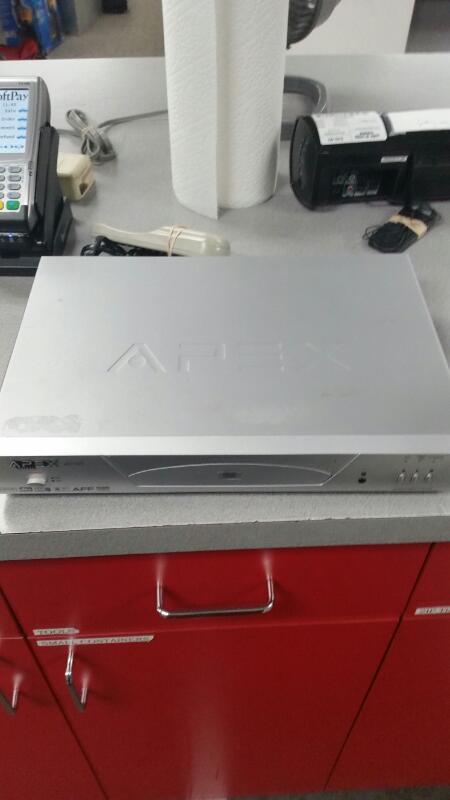 APEX DIGITAL DVD Player AD-1225