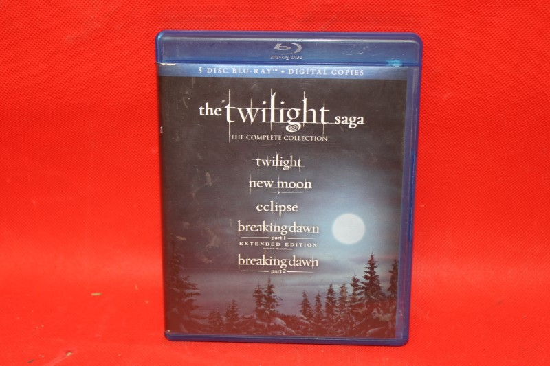 The Twilight Saga: The Complete Collection (5-Disc Blu-ray)